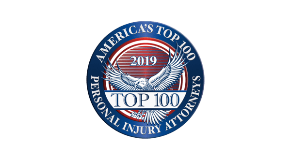 America's Top 100 Personal Injury Attorneys badge