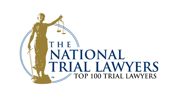 The National Top 100 Trial Lawyers logo